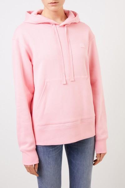 Acne Studios Hoodie mit Kapuze 'Ferris Face' Blush Pink