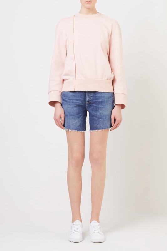 Jeans-Shorts 'Bailey Loosefit' Blau