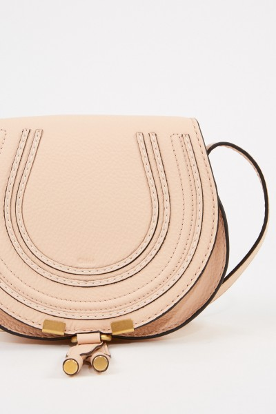 Chloé Shoulder bag 'Marcie Saddle Small' Delicate Pink