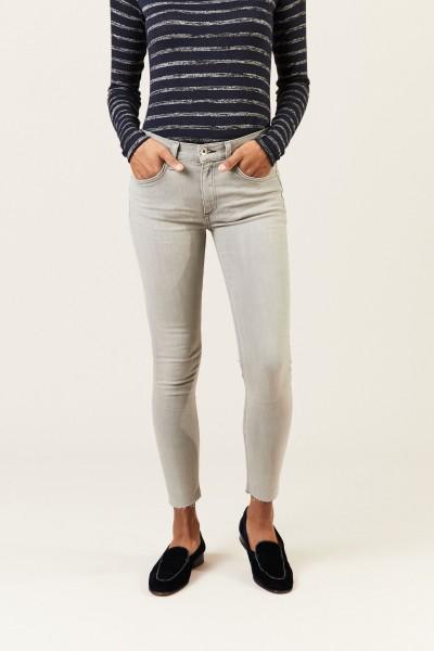 Ankle Skinny Jeans Grau