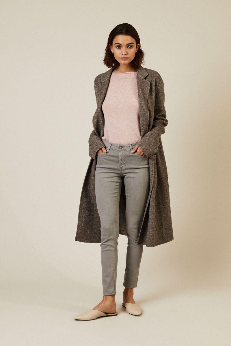 Super-Skinny-Jeans 'The Legging Ankle' Grau