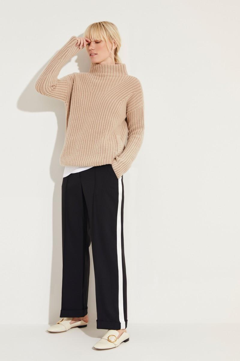 Cashmere-Pullover 'Megan' Beige