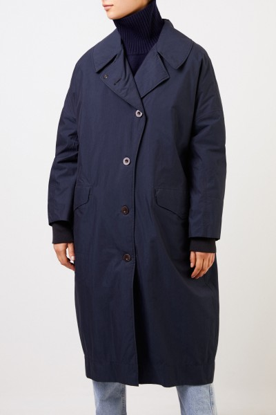 G-lab Long coat 'Audrey' Navy Blue