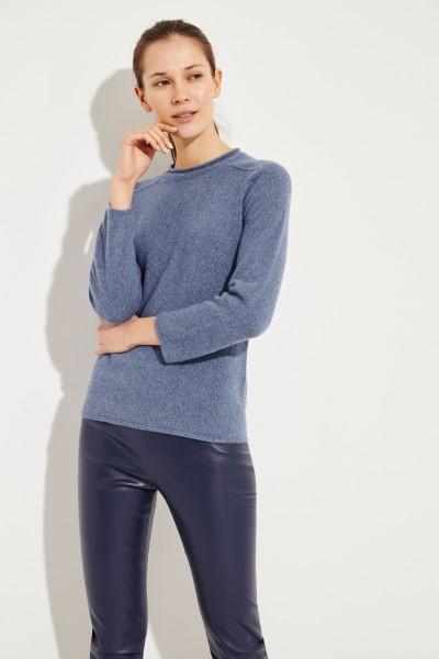 Cashmere-Pullover 'Rickie' Blau