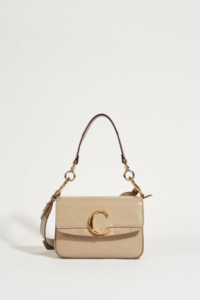 Tasche 'Chloé C Small' Motty Grey