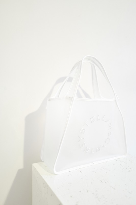 Logo-Shopper 'Tote Bag' Weiß