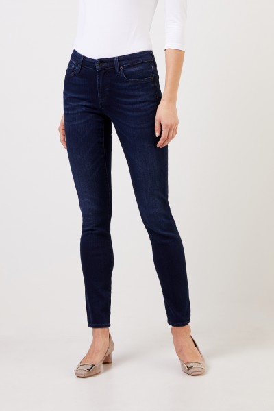 7 for all mankind Skinny Jeans 'Piper' Dunkelblau