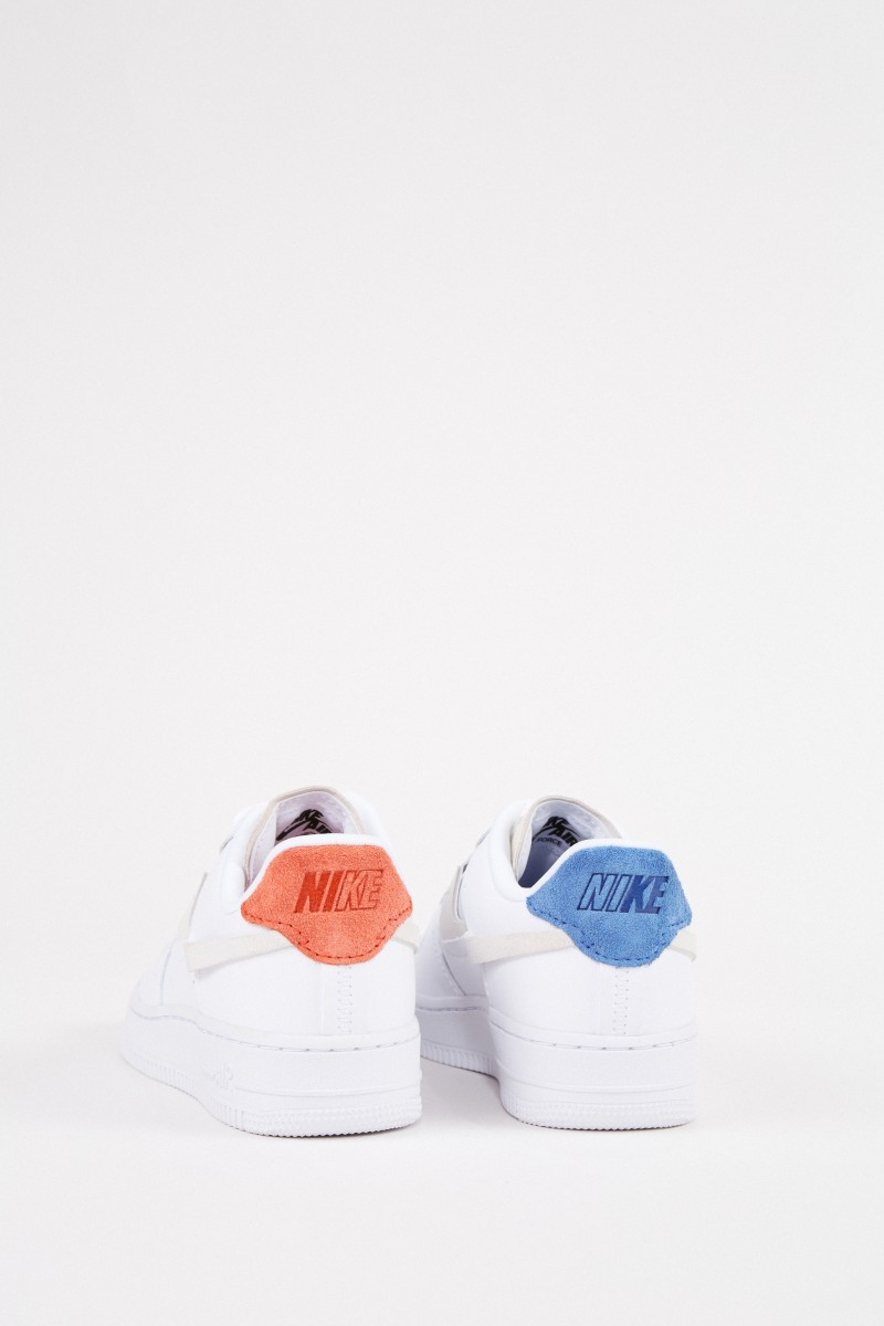 nike air force orange weiss