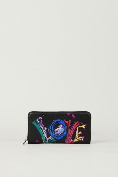 Portemonnaie 'Panetone Love' Schwarz/Multi