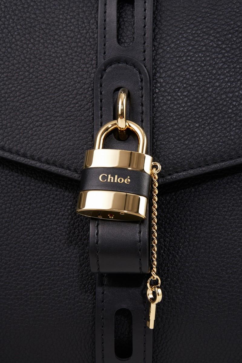 Chloé Tasche 'Aby Large' Schwarz