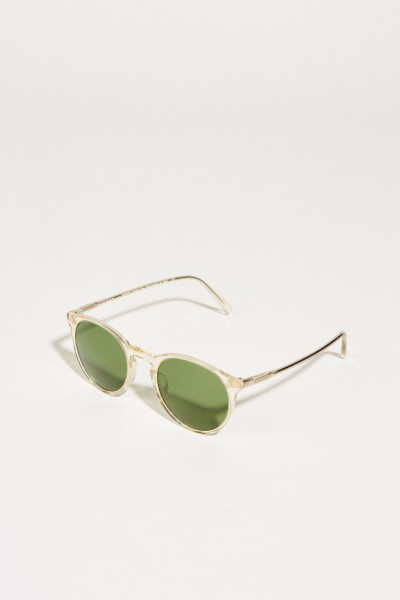 Sonnenbrille 'O'Melly Sun' Transparent/Grün