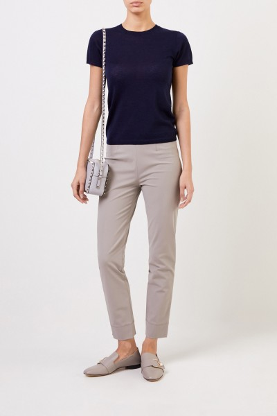 Stretch trousers 'Sabrina' Taupe