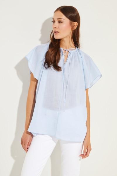 Oversize Bluse 'Rita' Blau