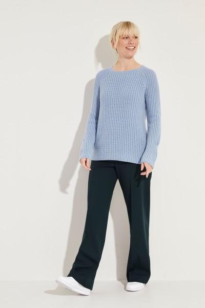 Cashmere-Pullover 'Magdalena' Blau