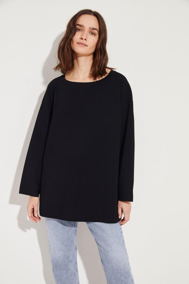 Strick-Pullover 'Naliah' Schwarz