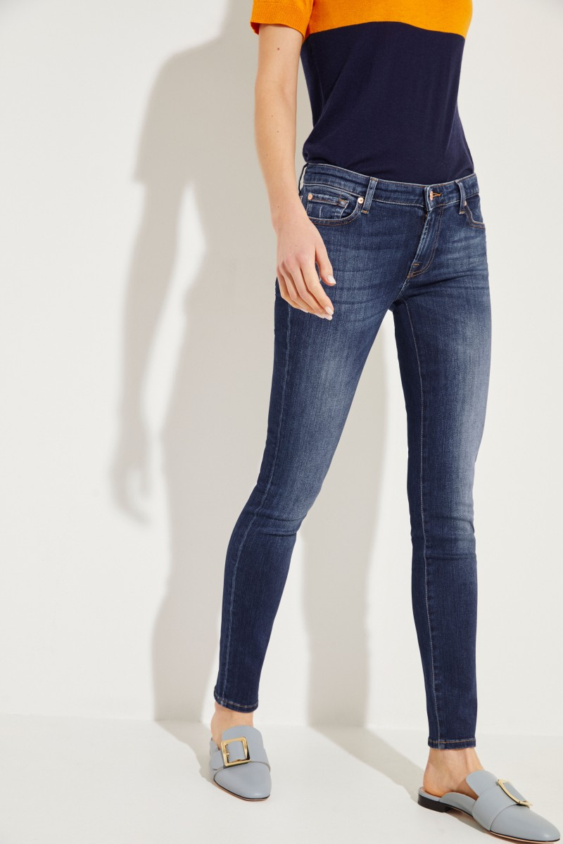 Skinny-Jeans 'Pyper' Blau