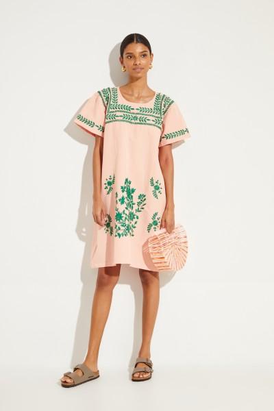 04ba8ed0ca3 Muzungu Sisters Cotton-linen dress with embroidery orange €440.00 S M