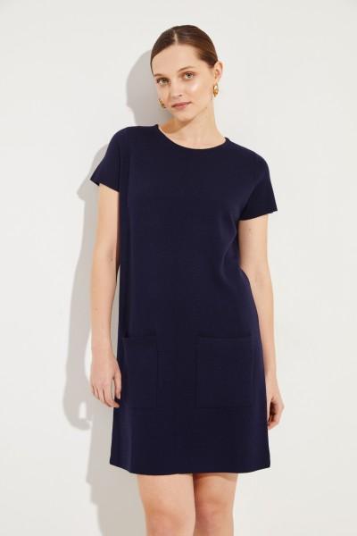Woll-Kleid Marineblau