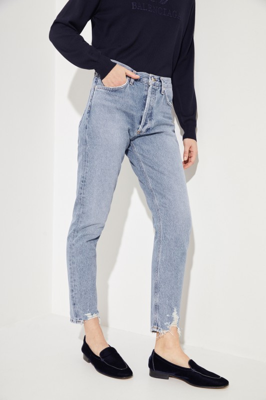 Jeans in Used-Look 'Jamie' Blue