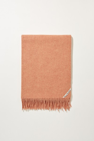 Classic wool scarf 'Canada New' Rose