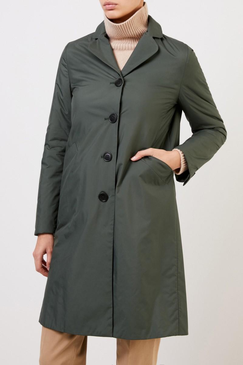 Aspesi Klassischer Kurzmantel Grün