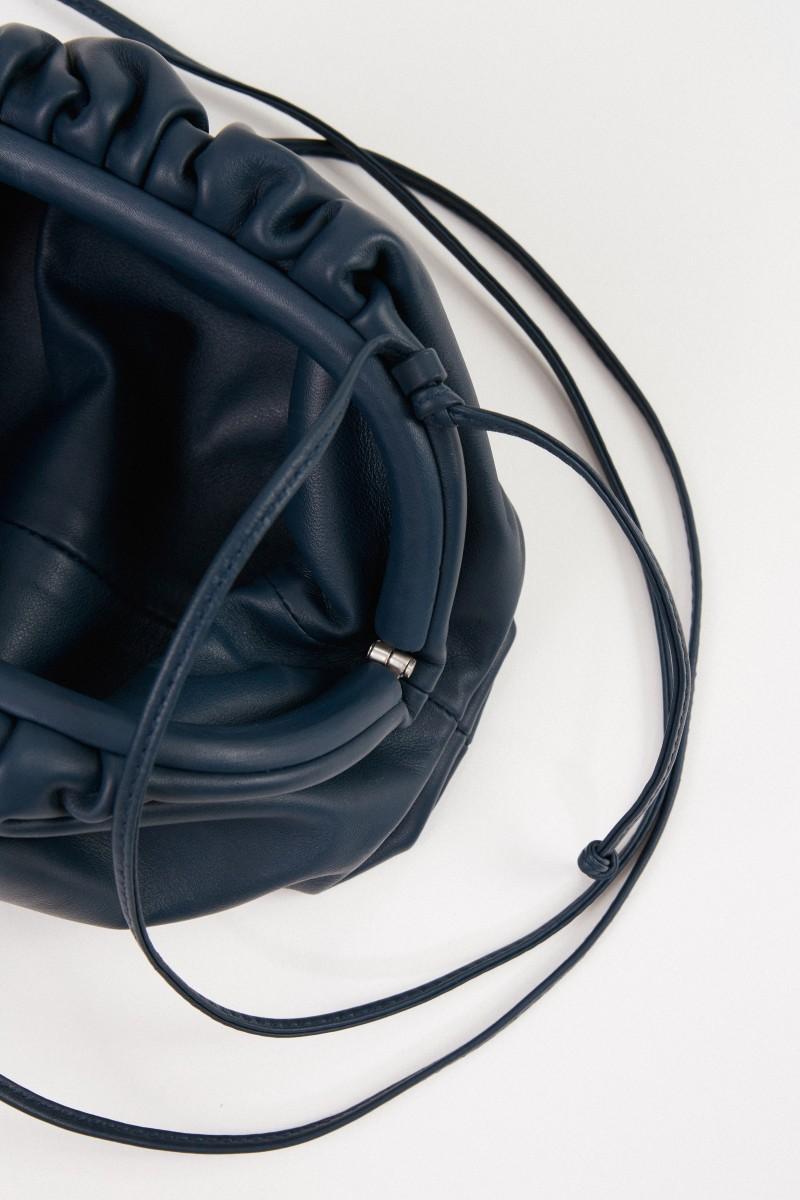 Bottega Veneta Clutch 'The Pouch Mini' Petrol