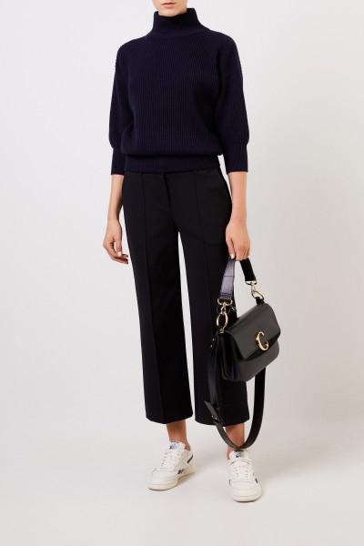 Cashmere-Pullover Marineblau