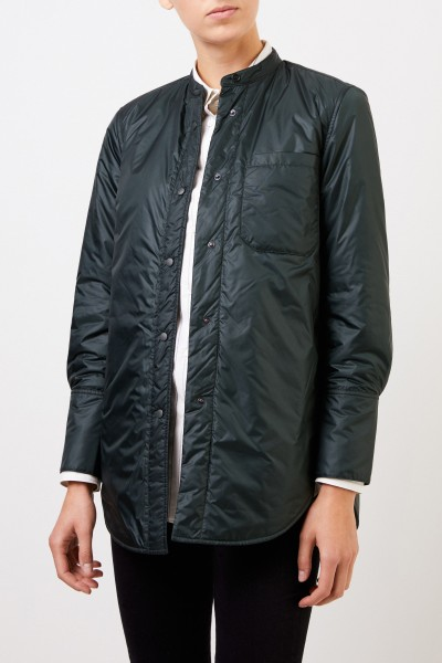 Aspesi Jacket with r -neck Green