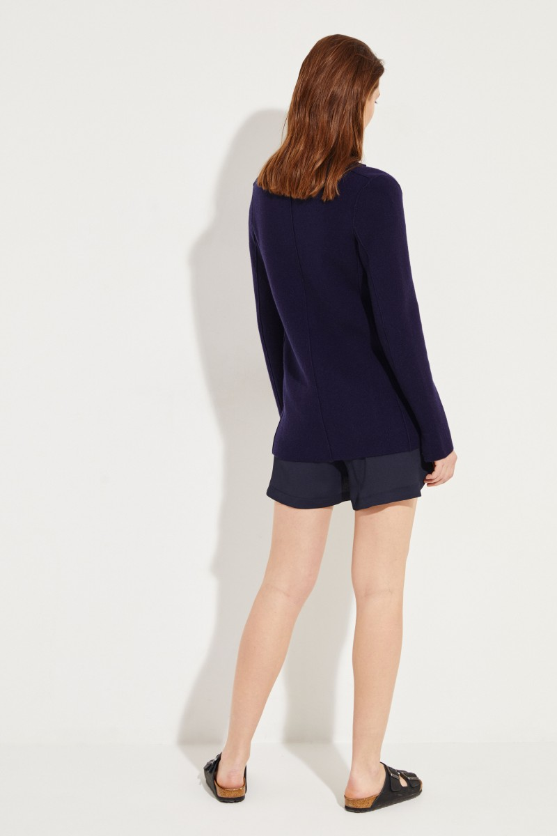 Cashmere-Blazer 'Yasmine' Marineblau