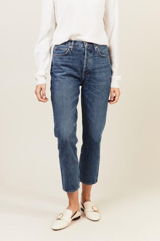 Jeans 'Riley' Blau