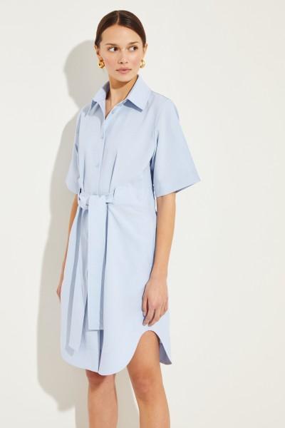 Hemdblusenkleid 'Della' Blau