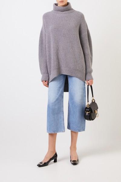 Givenchy Alpaca-Woll-Rollkragenpullover Grau