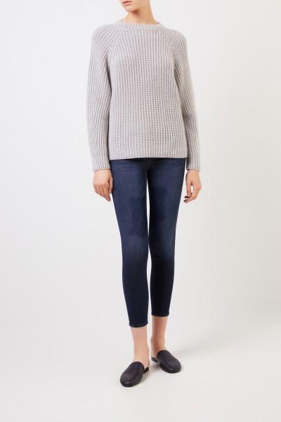 Frame Skinny Jeans 'Le Skinny De Jeanne Crop' Marineblau