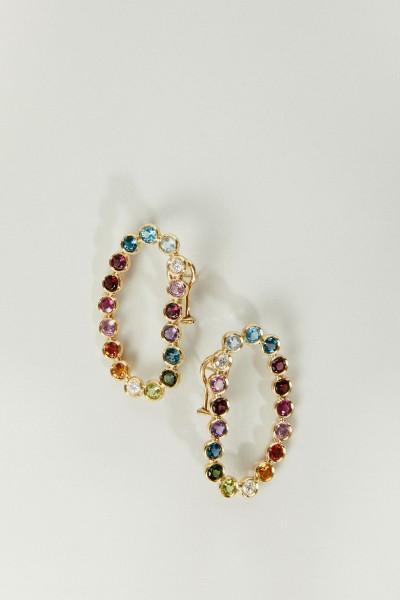 Ohrringe 'Lourdes' Gold/Multi