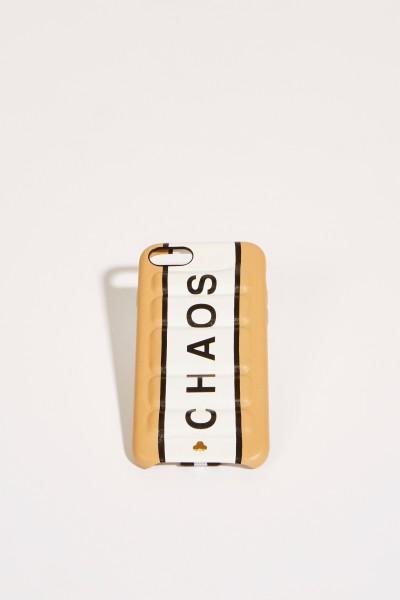 IPhone Case 7/8 mit Logo Beige/Weiß
