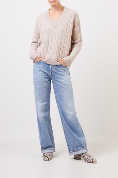 Citizens of Humanity Jeans 'Annina' mit weitem Bein Hellblau