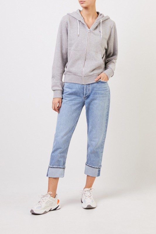 AGOLDE High Rise Jeans 'Riley' Blau