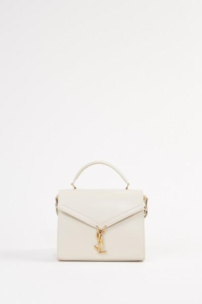 Saint Laurent Leder-Tasche 'Nolita S' Créme Soft