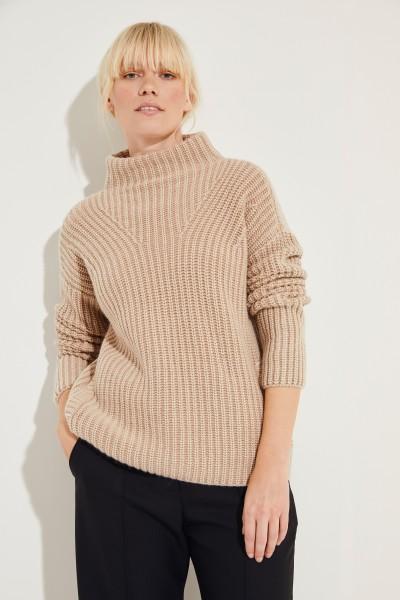 Cashmere-Pullover 'Megan' Braun