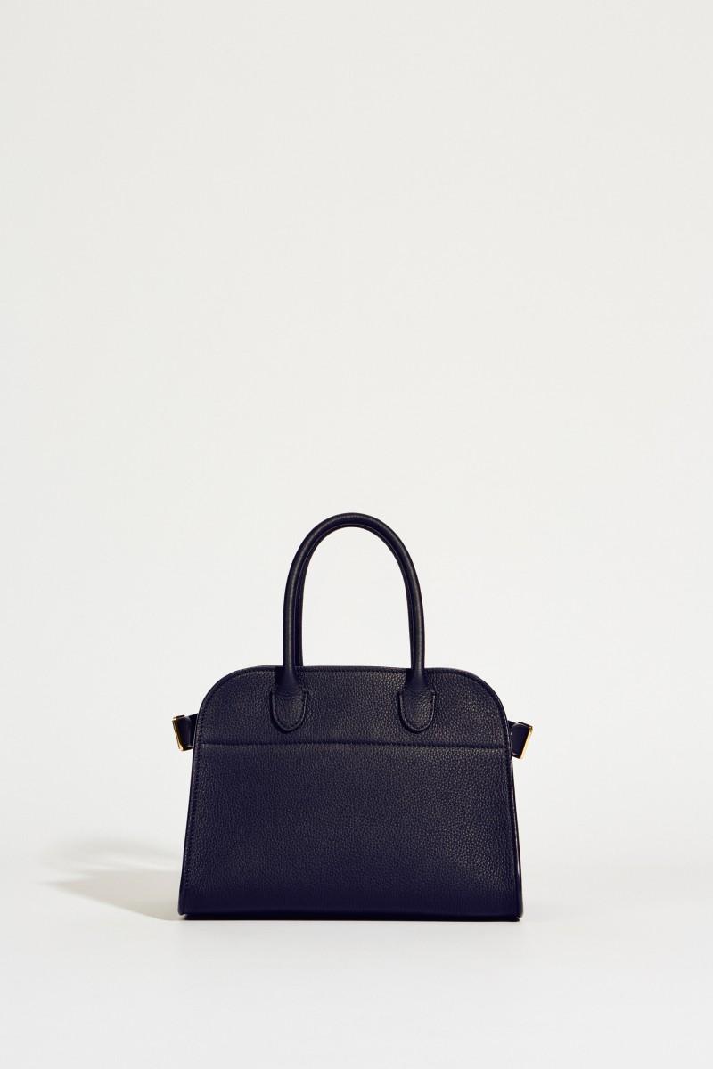 Leder-Handtasche 'Margaux' Blau
