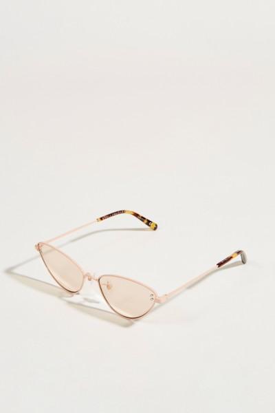 Sonnenbrille Transparent/Rosé