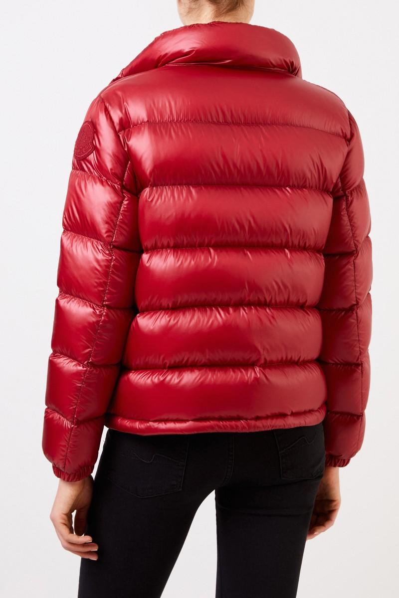 Moncler Kurze Daunenjacke 'Copenhague' Rot
