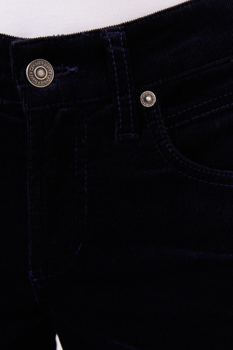 Cambio Feincord-Hose 'Pina' Marineblau