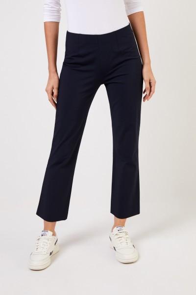 Seductive Elastische Hose 'Cindy' Marineblau