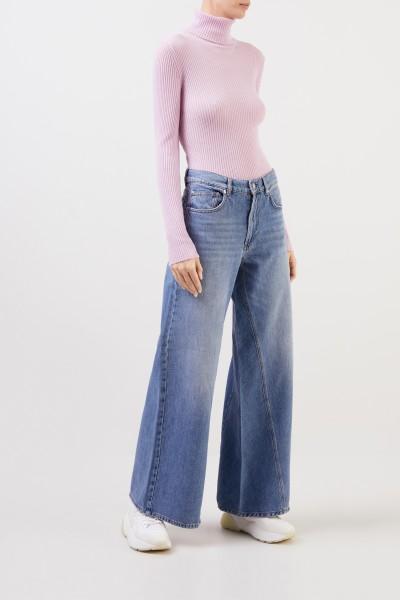 Ganni Jeans 'Classic Denim' mit Schlag Blau