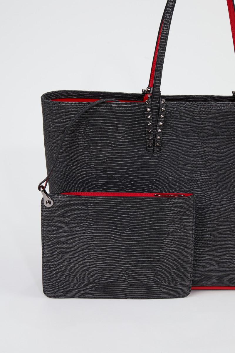 Christian Louboutin Shopper 'Cabata' Schwarz