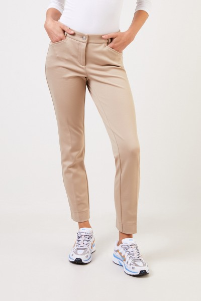Cambio Classic trousers 'Rike' Beige