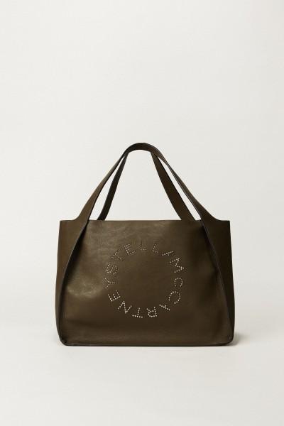 Shopper mit Stella-Logo 'Small Tote Bag' Khaki