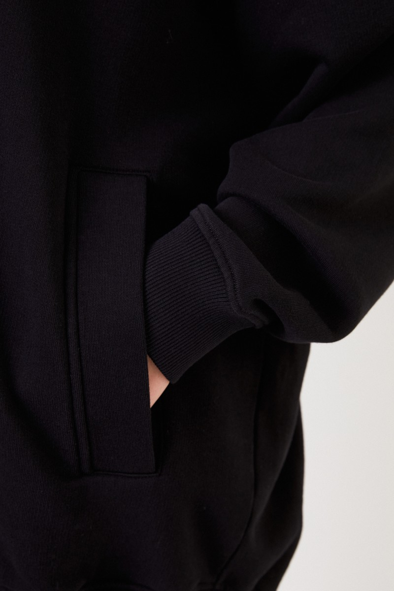 Givenchy Oversize Hoodie mit Logo Schwarz