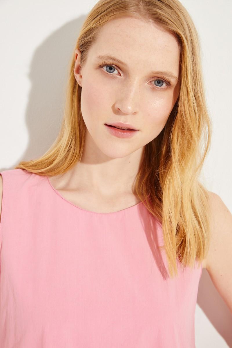 Baumwoll-Kleid Rosé